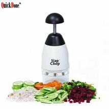 Slap Chop Food Chopping Machine Tool Cutter Fruit Vegetable Slicer Kitch... - $14.69