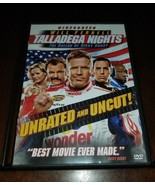 Talladega Nights The Ballad of Ricky Bobby Unrated Edition DVD EXMT **In... - $3.08