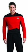 Rubies Star Trek Deluxe Next Generation Rot Command Halloween Kostüm 888979 - $35.52