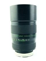 Quantaray 500mm f8 MC Mirror Lens 822013 JAPAN F:8 Camera photography Gear - $83.55