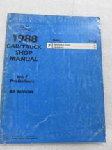 1988 Ford Pre Delivery Service Repair Manual OEM Factory Dealership Workshop - $7.08