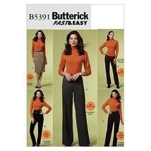 Butterick Patterns B5391 Misses'/Misses' Petite Skirt And Pants, Size F5 (16-18- - $12.74