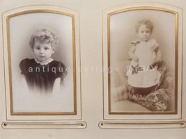 1800s antique PHOTO ALBUM switzerland WINTERTHUR and ST GALLEN well-to-d... - $295.00