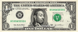 LUDACRIS Rapper on REAL Dollar Bill Cash Money Bank Note Currency Dinero - $8.88