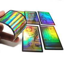 Holographic Tarot Cards Deck Future Telling Divination Rider Waite 4 Lan... - $20.78