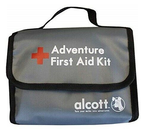 Primary image for First Aid Kit 54 Piece Medical Supply Set For Dogs and People Safety Travel Bag