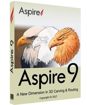 Vectric Aspire 9 with Cliparts (32-bit & 64-bit)   Software - FAST DELIV... - $5.99