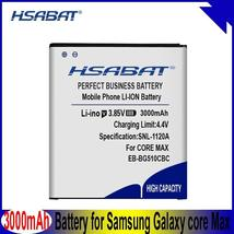 HSABAT 100% New 3000mAh EB-BG510CBC Battery For Samsung Galaxy core Max SM-G5108 - $16.91