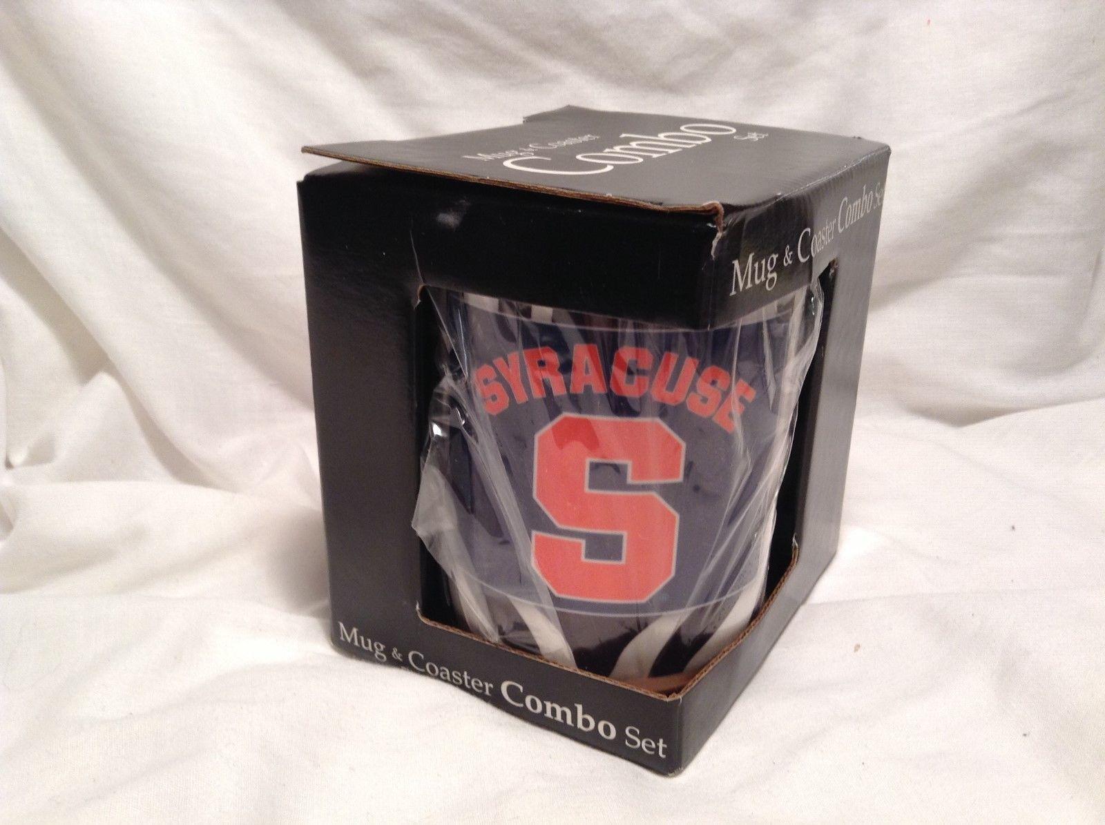NEW Mug World 'Syracuse' 15oz Mug and Coaster Set