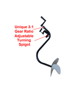 HAND OPERATED OUTBOARD MOTOR INFLATABLE BOAT TROLLING MOTOR BOAT PROPELL... - $99.00