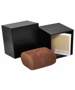 BRAND NEW MICHAEL KORS AUTHENTIC BROWN WATCH BOXES W PILLOW AND MANUAL - $12.82