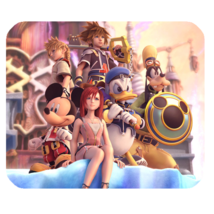 Mouse Pads Kingdom Hearts Limited Heroes Series Game Animation Fantasy M... - $114,73 MXN