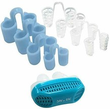 Stop Snoring Solution Nasal Dilators DAN N RAK 9Pc Set Snore Kit - $11.77