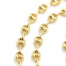 MASSIVE 18K YELLOW GOLD BIG MARINER CHAIN 5 MM, 24 INCHES, ITALY MADE NECKLACE image 3
