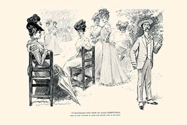 To Bachelors who wish to Avoid Competition by Charles Dana Gibson - Art Print - $19.99+