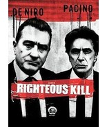 DVD Righteous Kill De Niro Pacino NYPD Widescreen w Commentary Dolby 5.1... - $5.94