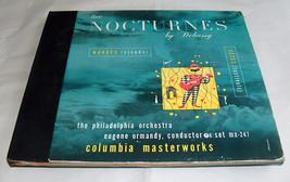 Columbia Record Dos Nocturnos Debussy Eugene Ormandy Phila Orquesta Álbu... - ₹1,133.29 INR
