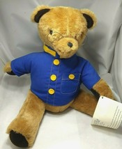Woods & Woods Basic Brown Bear Factory Teddy Plush Band Uniform Blue and... - $24.49