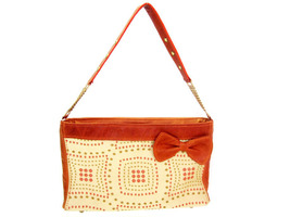 Arbat Clutch in Leather and Tapestry - $2.417,91 MXN+
