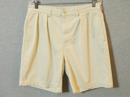 Mens Polo Ralph Lauren Chinos Shorts Size 34 Pleated - $23.74