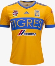 NWT TIGRES UANL FAN HOME JERSEY SEASON 2017-2018 SIZE S TO XL - $44.99