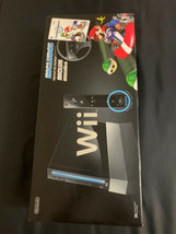 BRAND NEW Nintendo Wii Mario Kart Racing Bundle Black Console System Sealed RARE - $749.99