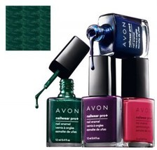 "Avon Nailwear Pro+ Nail Enamel ""Midnight Green"" - $4.25"