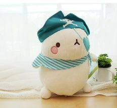 Molang Pirate Stuffed Animal Rabbit Plush Toy 8.6 inches 22cm (Blue) image 5