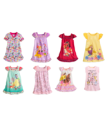 Disney Store Princess Nightshirt Ariel Snow White Rapunzel Elena Belle R... - $39.95