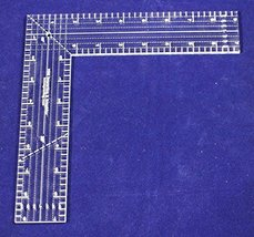"9"" L-Shaped Ruler - 1/4"" thick - $25.99"