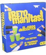 NEW~Mattel~RETO MANITAS~JUEGO DE MESA~SPANISH/ESPAñOL VERSION~112 RETOS!!! - $44.54