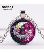 SONGDA 2018 Fashion My Little Ponies Necklace Magic Rainbow Horse Baby G... - $8.00