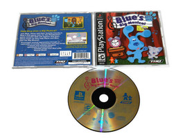 Blue's Clues Blues Big Musical Play Station PS1 2001 Video Game - $7.91