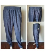 FILA Sport Tru Dry Woven Running Pants Joggers Gym Athletic Ash Coal Gra... - $13.47
