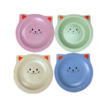 Unbreakable 4pcs Dinner Plates Dinnerware Dishes Cartoon Cat Plate Sauce... - $13.85