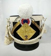 Christmas Gift France Tschako Pick Hood Napoleon Waterloo Infantry line ... - $203.50