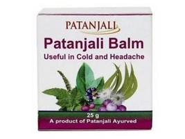 2 x Patanjali Herbal Divya Balm For Headache Cold Cough and Rhinitis 25 ... - $8.02