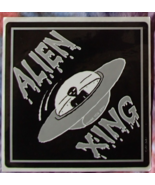 ALIEN XING THANK YOU JERRY Vintage Out of Print Vinyl Decal Jerry Garcia... - $11.99