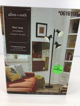 allen + roth Embleton 68-in Bronze Multi-Head Floor Lamp with Metal Shade - $39.00