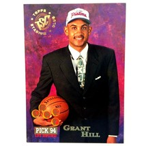 Grant Hill Rookie Card 1994-95 Stadium Club #181 NBA HOF Detroit Pistons... - $3.91
