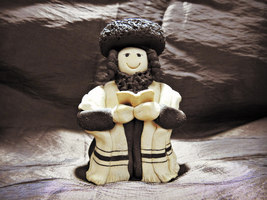 Orthodox Jew Man Figurine  - $29.99