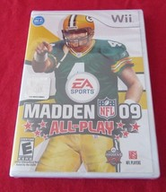 Madden NFL 09: All-Play (Nintendo Wii, 2008) Brand New Factory Sealed - $11.87