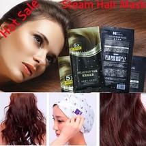 Heating Steam Hair Mask Keratin Argan Oil Treatment Dry Hair Split Ends ... - $7.36