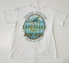 Jimmy Buffett Mens L Landshark Lager T-Shirt 2011-12 Tour Tee Concert - $19.99