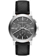 Burberry BU9359 The City Black Dial Chronograph Watch - 42 mm - Warranty - $380.00