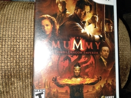 Nintendo Wii The Mummy: Tomb Of The Dragon Emperor  image 1