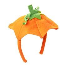 Infant/Toddler Halloween/Autumn Orange Felt Pumpkin Headbad/Gymboree - $4.95