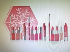 Clinique 3 Lip Looks To Give + Get 15 pieces in Snowflake Gift Box - $68.30