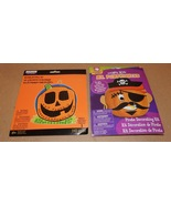 Halloween Foam Mosaic Pumpkin Activity Kit & Mr Pumpkin Head Kit Pirate ... - $6.94