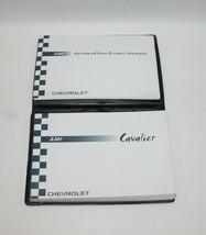 2004 Chevrolet Cavalier Factory Original Owners Manual Book Portfolio #40 - $17.77